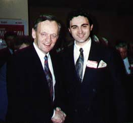 Gord and Jean Chretien